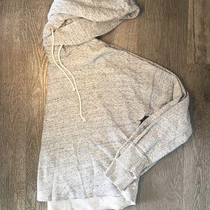 Heather grey hoodie